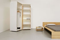 contemporary solid wood wardrobe QUARTIER Sanktjohanser