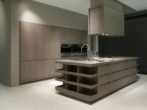 contemporary solid wood / wood veneer kitchen ANTHEA  GRATTAROLA