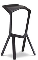 contemporary stacking bar stool MIURA by Konstantin Grcic PLANK