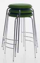 contemporary stacking bar stool PASTILLO by Ulla Christiansson KARL ANDERSSON
