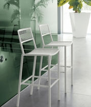 contemporary stacking bar stool EASY by Centro R&D Fast FAST SPA