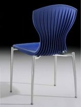 contemporary stacking chair CORSET AMAT - 3