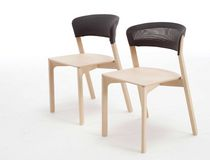 contemporary stacking chair CAFE by Jonathan Prestwich Arco Contemporary Furniture