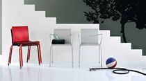 contemporary stacking chair T-TINA by D'urbino Lomazzi Robots