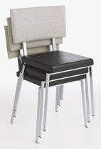 contemporary stacking chair TRIPPO by Ulla Christiansson KARL ANDERSSON