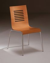 contemporary stacking chair 67 STAR srl