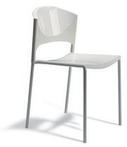 contemporary stacking chair BRILLA by Carlo Bimbi Sintesi