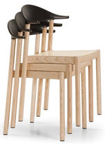 contemporary stacking chair MONZA by Konstantin Grcic PLANK