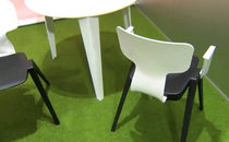 contemporary stacking chair AHREND 380 Ineke Hans