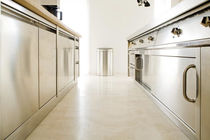 contemporary stainless steel kitchen ROYAL CHEF INOX de Manincor