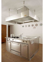 contemporary stainless steel kitchen GU1510 SERIE GRAND CHEF ISOLA de Manincor