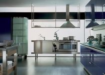 contemporary stainless steel kitchen PROFILE EFFETI INDUSTRIE