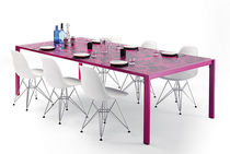contemporary steel dining table  MATABLA