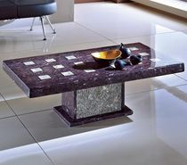 contemporary stone coffee table BREZZA LAVAMAR