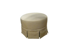 contemporary stool Pouf A VOLANTS Balcaen