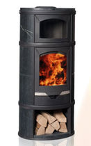 contemporary wood-burning stove (soapstone, with oven) ECLIPS SERIES: GOURMET Altech