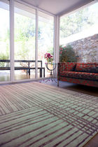 contemporary striped rug (handmade) MYM Now Carpets