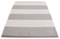 contemporary striped rug in cotton (handmade) DUETTO STRIPE HANNA KORVELA DESIGN