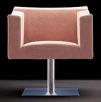 contemporary swivel armchair TIVI Antidiva