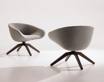contemporary swivel armchair by Antonio Citterio MART 2012 B&B Italia
