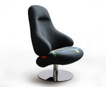 contemporary swivel armchair SUPERDUMBO by Arch. Pio, Tito Toso Rossi di Albizzate