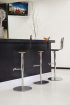 contemporary swivel bar chair INGRID by Jan Sabro Vibiemme