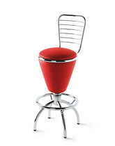 contemporary swivel bar chair 833 STAR srl