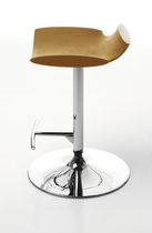 contemporary swivel bar stool NOAH F by Marcello Ziliani Sintesi