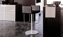 contemporary swivel bar stool HERMANO by Mario Mazzer Ycami