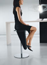 contemporary swivel bar stool SWING by Studio 28 Ciacci Kreaty