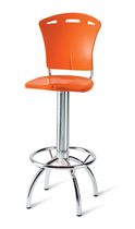 contemporary swivel bar stool 557 STAR srl