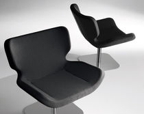 contemporary swivel chair SHE by Guggenbichler Design TONON