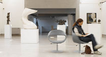 contemporary swivel chair BABA F by Adriano Tolomei Sintesi