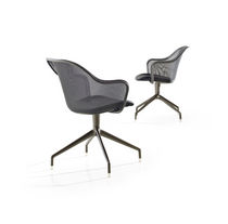 contemporary swivel chair by Antonio Citterio IUTA B&B Italia