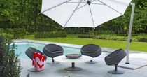 contemporary swivel garden armchair BERGAMO by Maartenolden BOREK parasols | outdoorfurniture