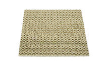 contemporary synthetic plain rug BASIL GREEN Robert A.M. Stern Collection