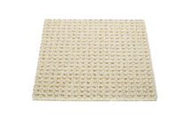 contemporary synthetic plain rug FRENCH BEIGE Robert A.M. Stern Collection