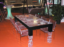 contemporary table MANHATTAN Sturmundplastic by La Rosa S.p.A