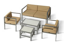 contemporary table and chairs set for gardens OLIMPIA Balliu Export