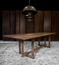 contemporary table in reclaimed wood HIGHLINE by Barlas Baylar Hudson Furniture