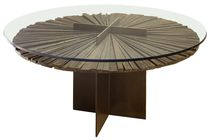 contemporary table in reclaimed wood MANDALA Rotsen Furniture
