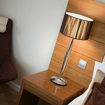 contemporary table lamp (fabric) HIL by Paul Bevis B.LUX