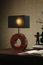 contemporary table lamp (fabric) ÓCULO COIM