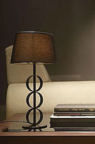 contemporary table lamp (fabric) LONDON  COIM
