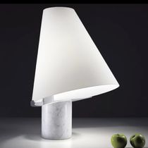 contemporary table lamp (Murano glass) MICENE by R.Toso, N.Massari Leucos