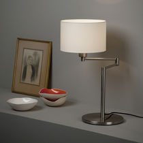contemporary table lamp (nickeled brass) HANSEN by George W. Hansen METALARTE