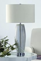 contemporary table lamp (silk) BELLA MEDIUM V2 Fitz LeuchtenManufaktur