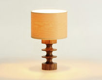 contemporary table lamp (wood) ABBOTT bark