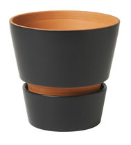 contemporary terracotta vase OPEN FLOWER by Margareta Hennix  DESIGN HOUSE STOCKHOLM