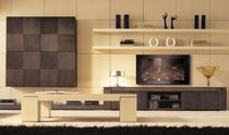 contemporary TV wall unit EROS Planum, Inc.